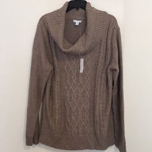 *NWT* New York & Company Cowl Neck Sweater